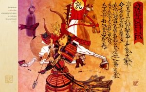 Samurai woman